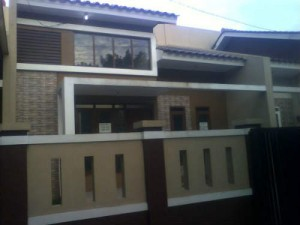 rumah dijual di Boulevard Hijau