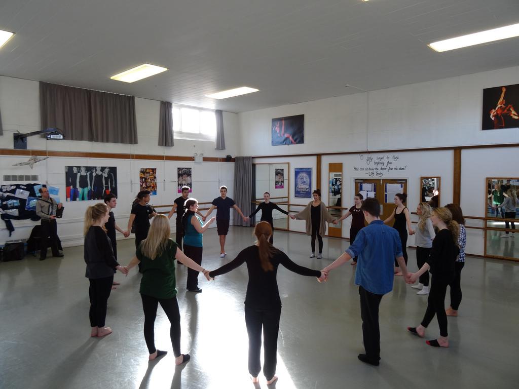 Sekolah dance di Serpong